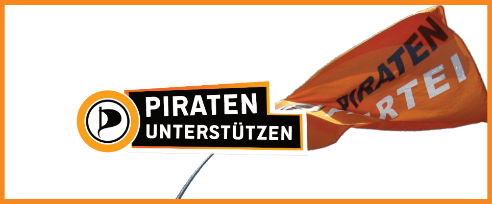 Spende der Piratenpartei!